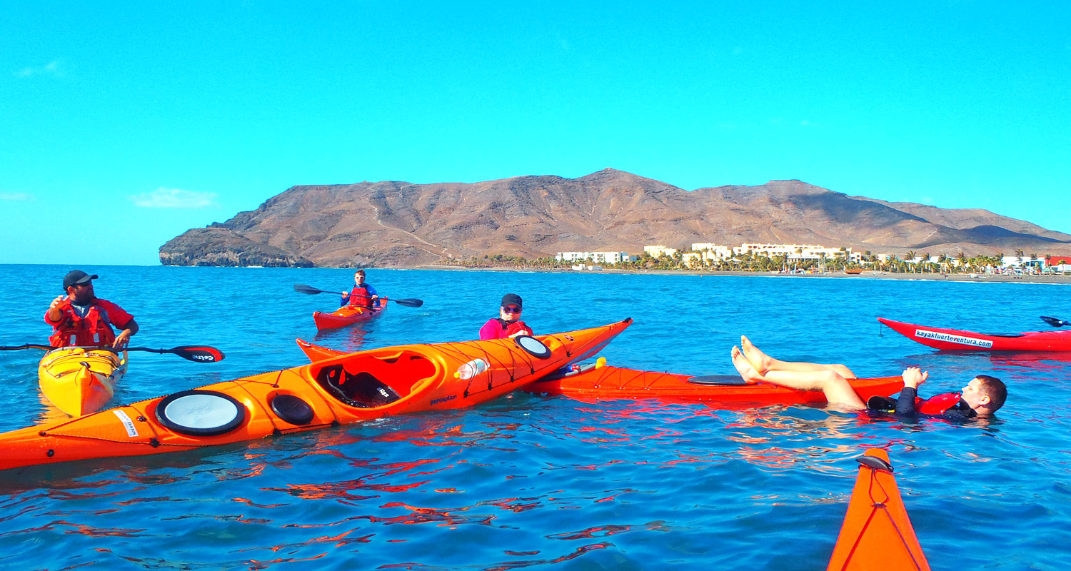 Sea kayaking courses Canary Islands