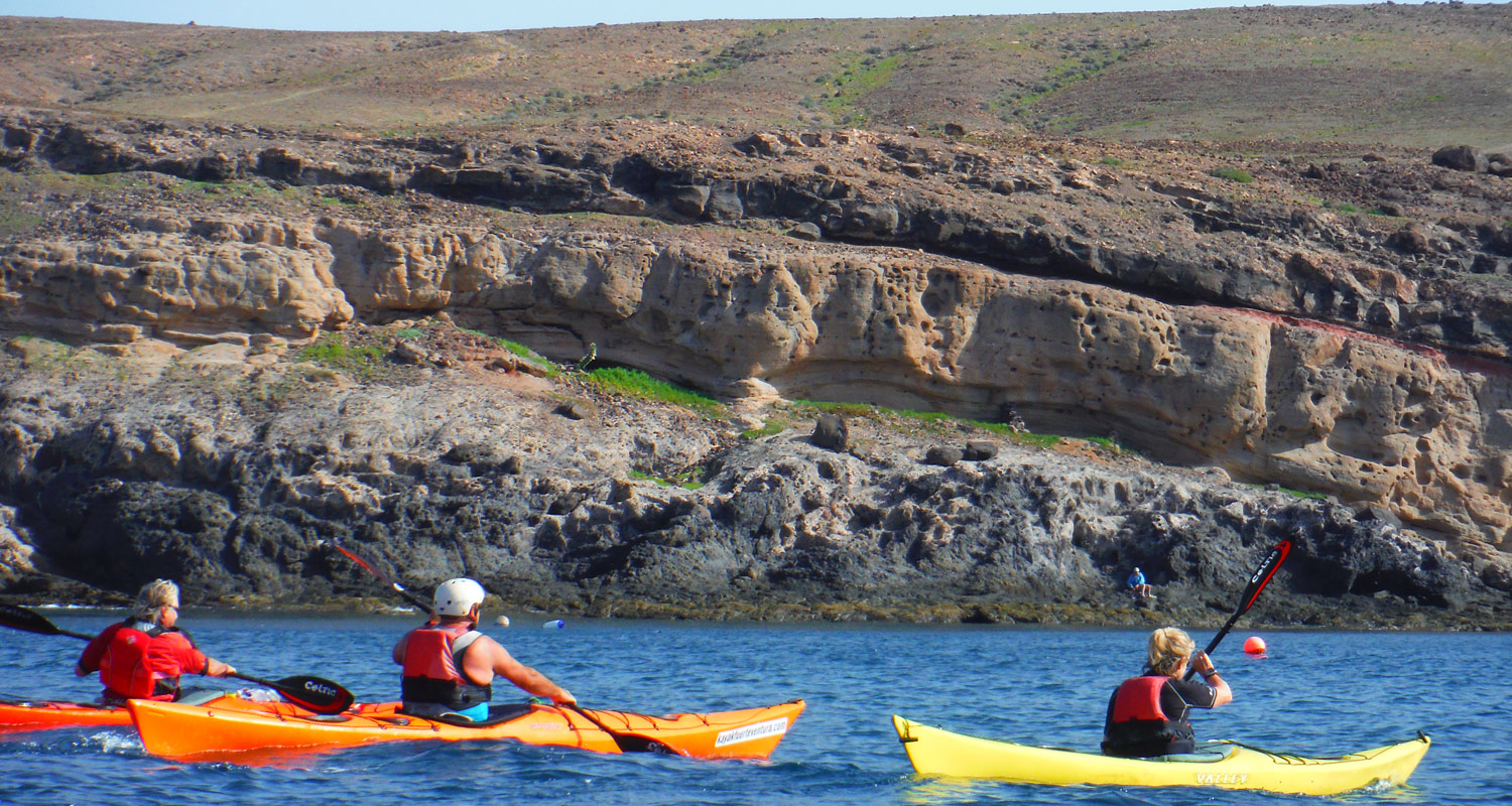 Equipment for Sea kayaking trips, excursions, courses and