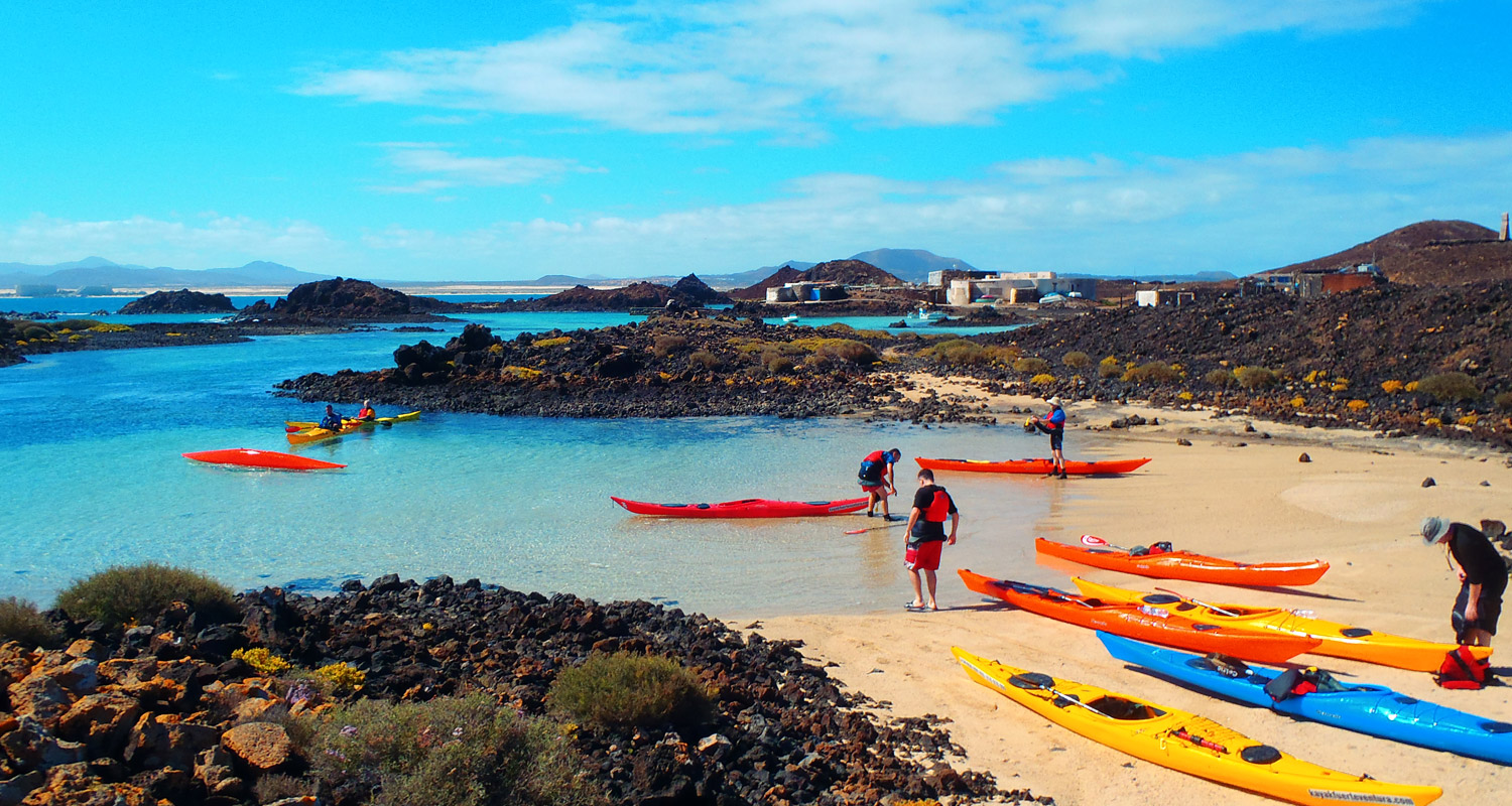 Sea kayaking expeditions europe