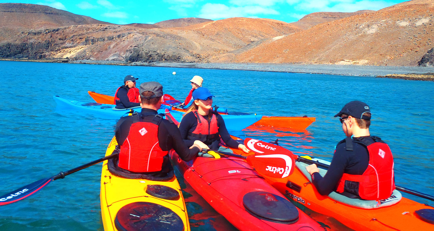 Sea kayaking expeditions Canary Islands