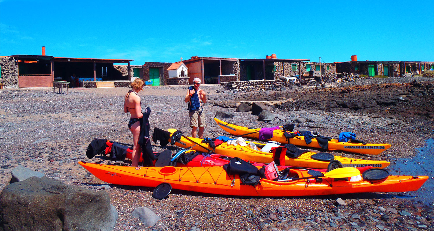 Sea kayaking expeditions Spain