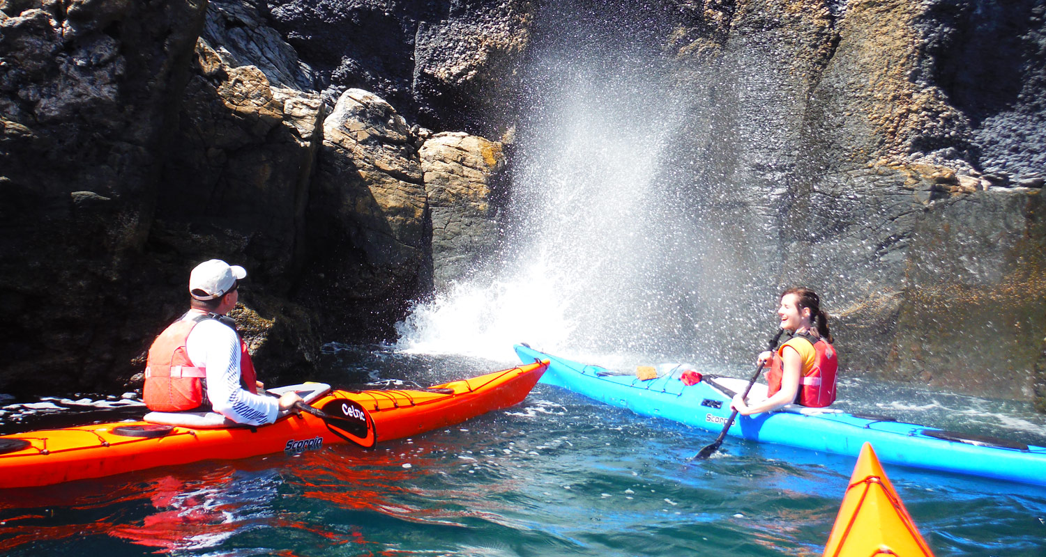 sea kayaking tours europe