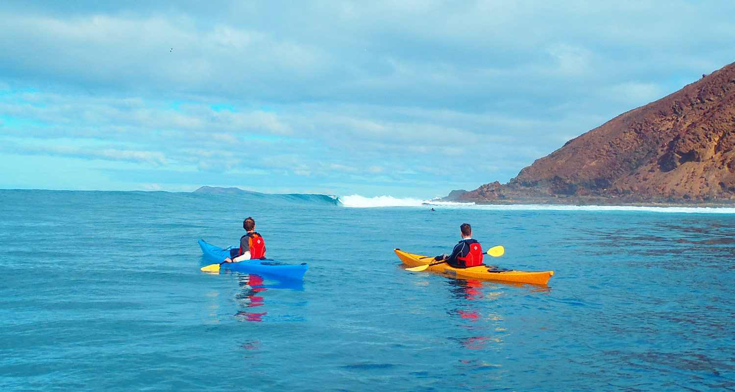 sea kayaking holidays Canary Islands