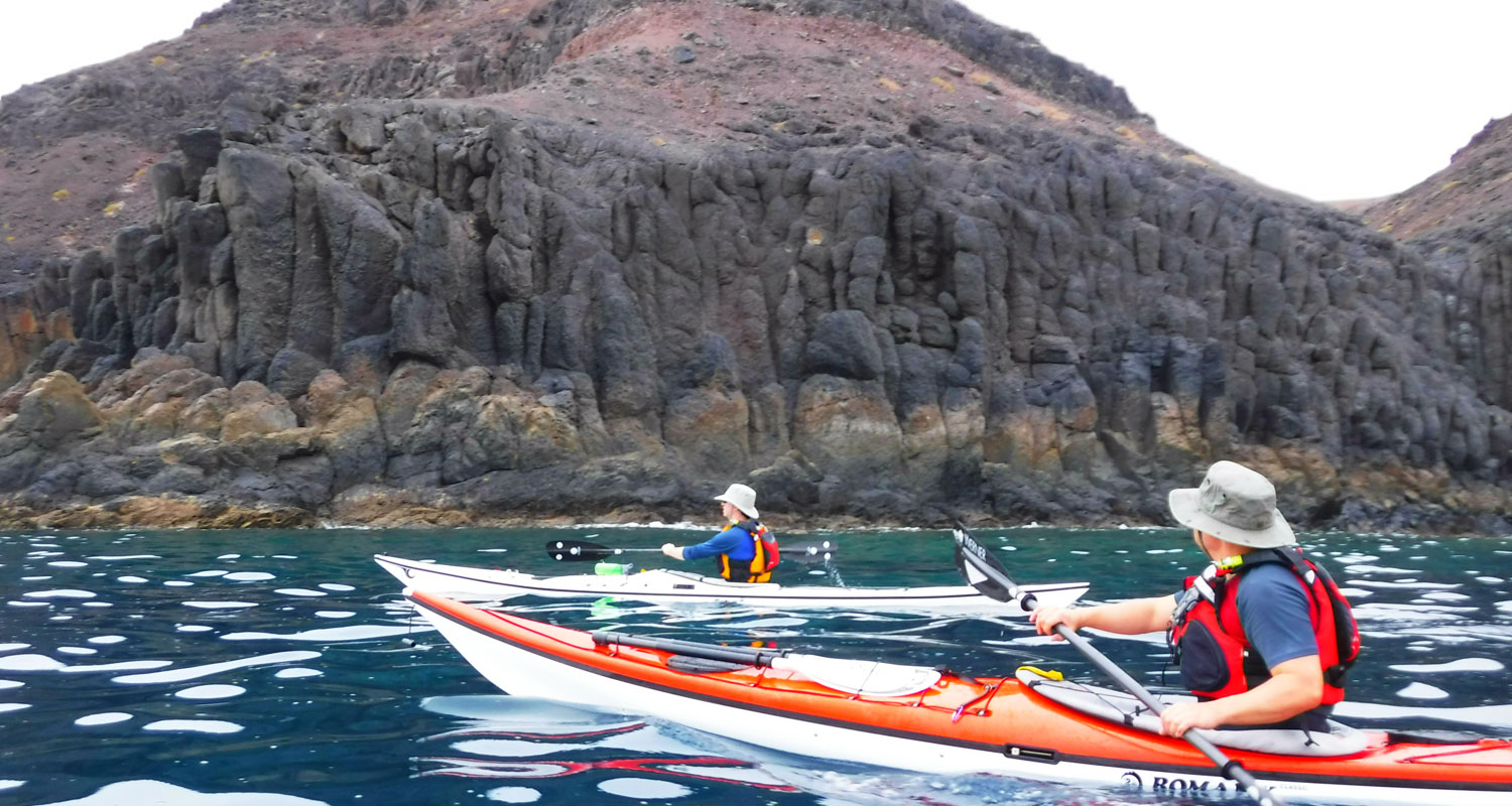 sea kayaking tours Canary Islands
