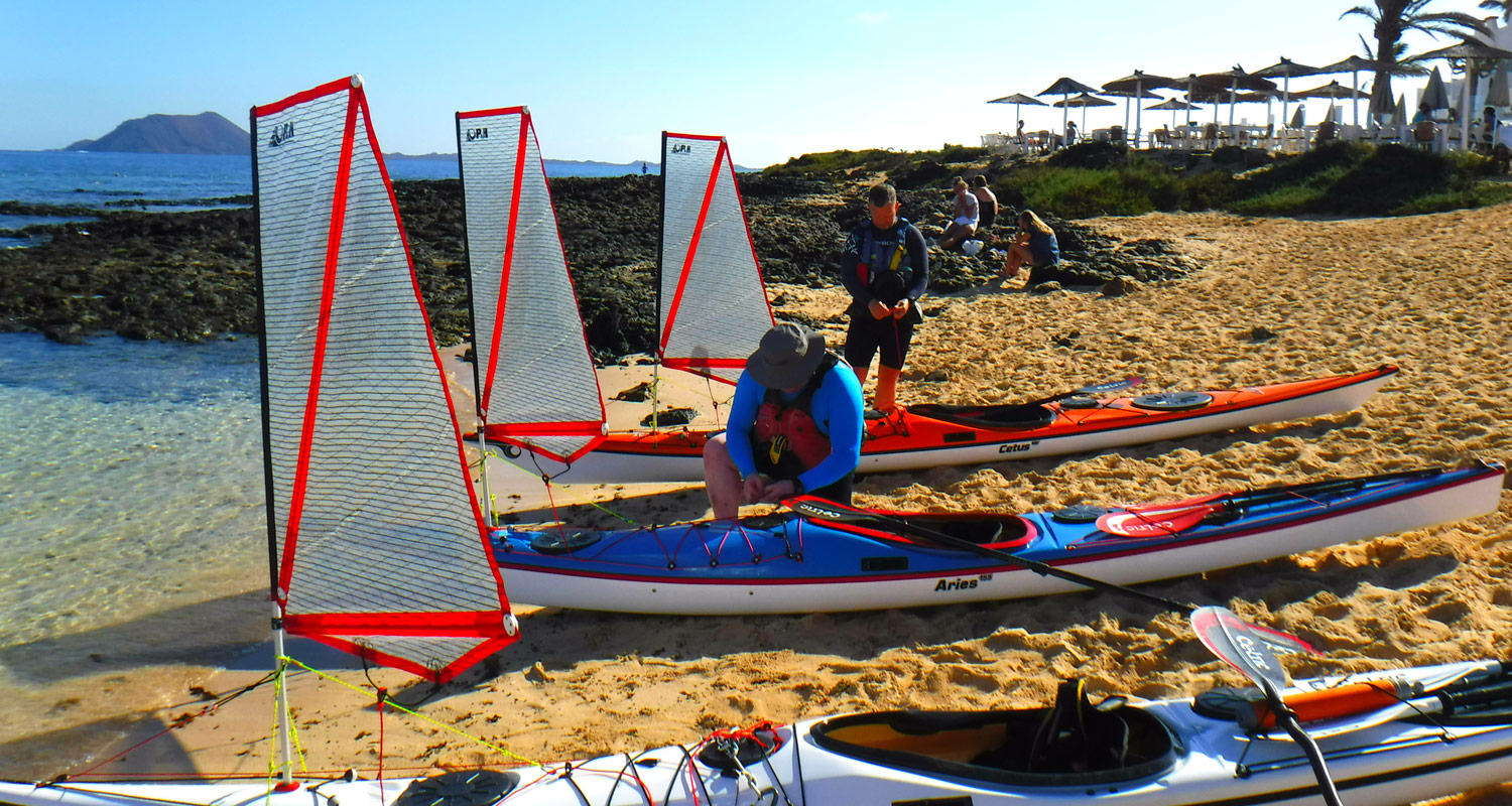 Sea kayak sailing courses