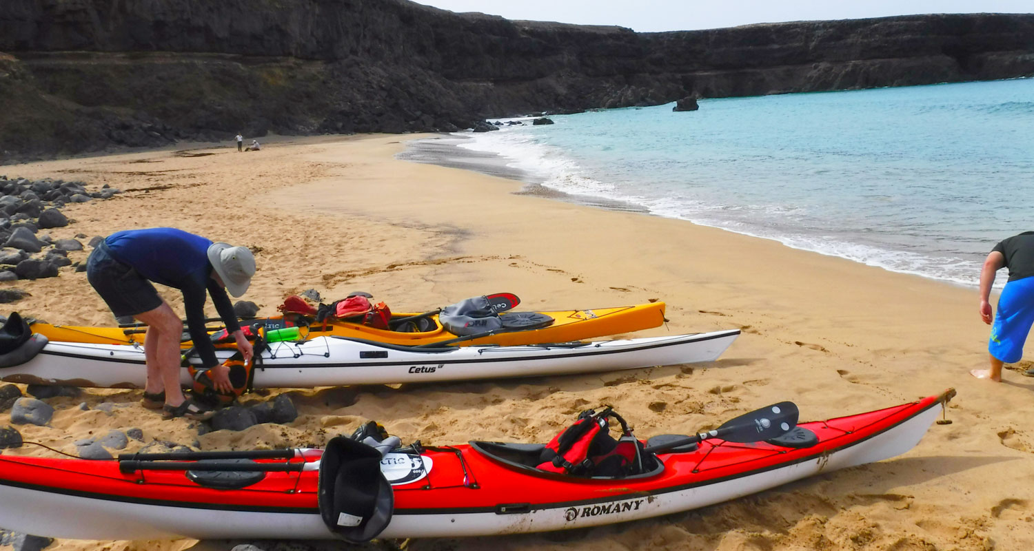 Sea kayaking holidays europe
