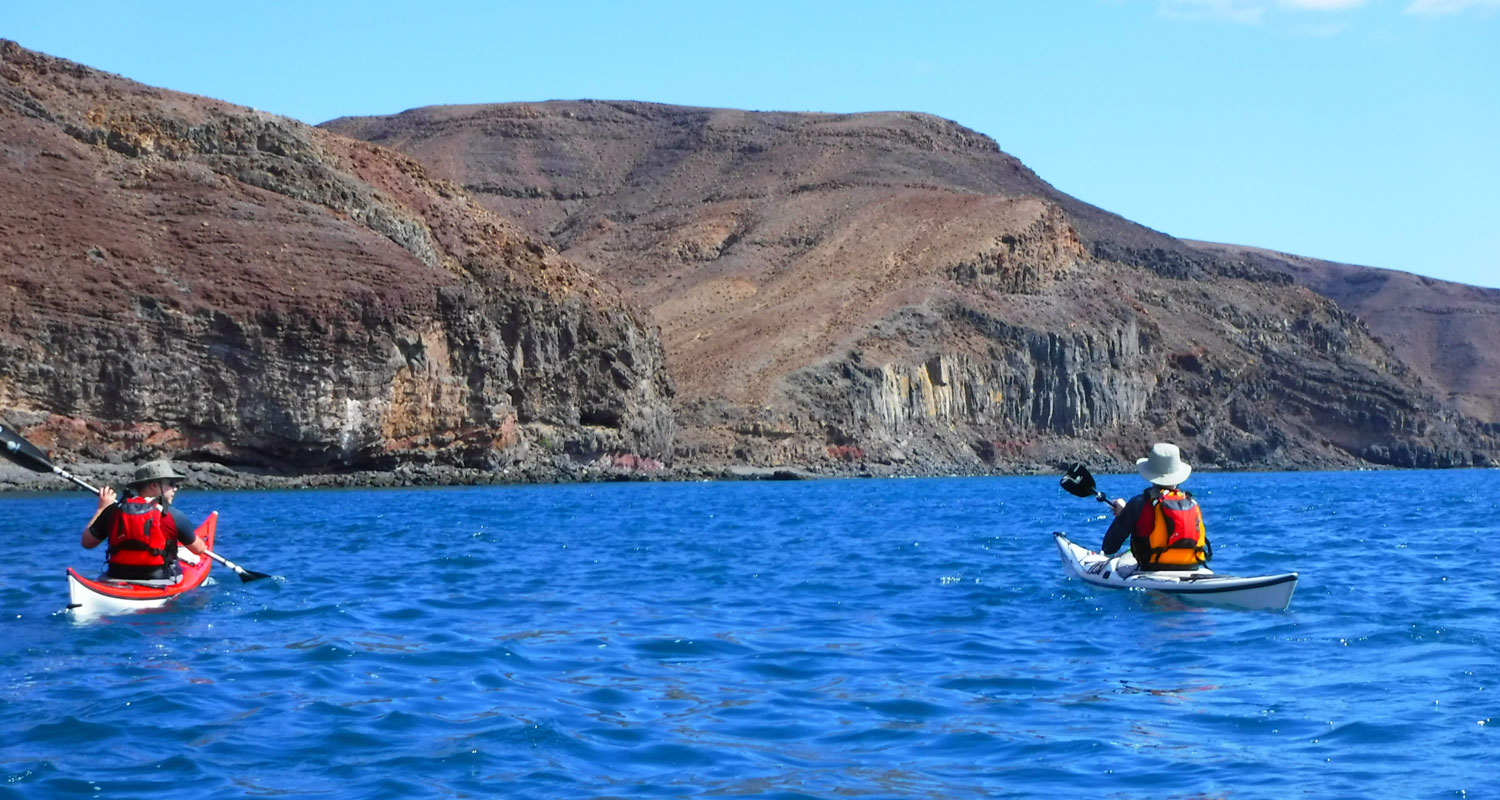 Sea kayaking Canary Islands